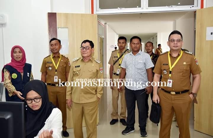 Pelaksanaan Tes  SKD CPNS Di Mesuji Berjalan Lancar