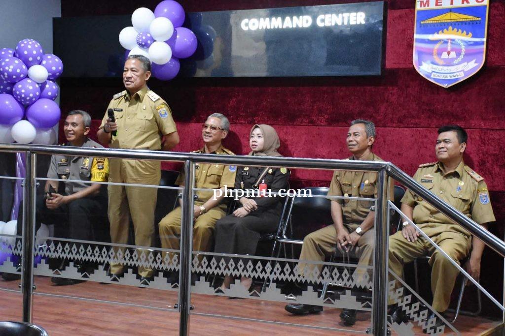 Launching Metro Cammand Center, Tingkatkan Kinerja dan Pelayanan