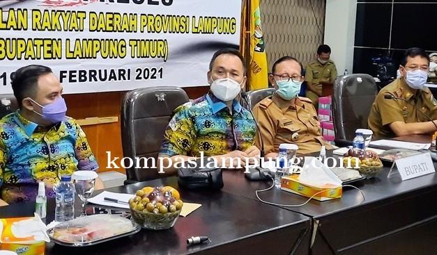 Reses DPRD Lampung,  Infrastruktur Menjadi Salah Satu Prioritas