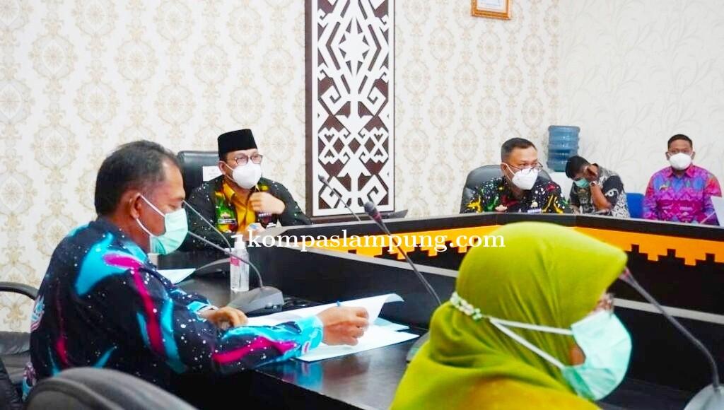 Walikota Metro Pimpin Rakor PAD Sektor Pajak Bumi Bangunan