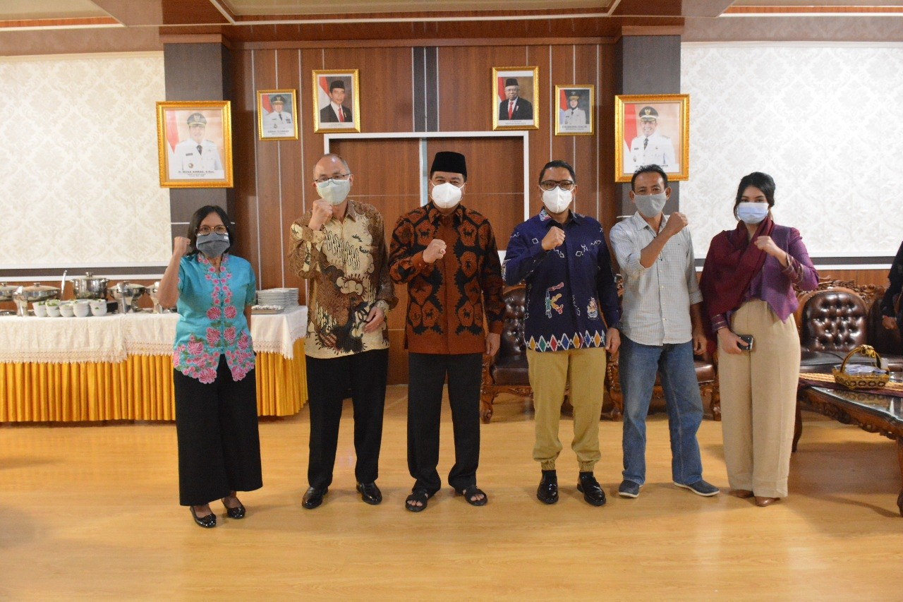 Bupati Lamteng Adakan Audiensi Bersama SKK Migas dan PT. Harpindo