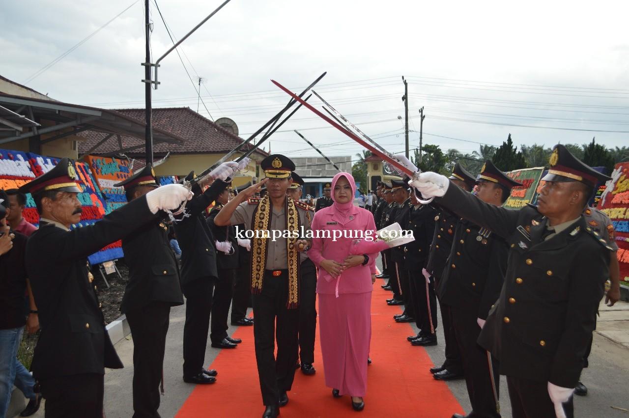 Polres Tuba Gelar Acara Wellcome And Farewell Parade