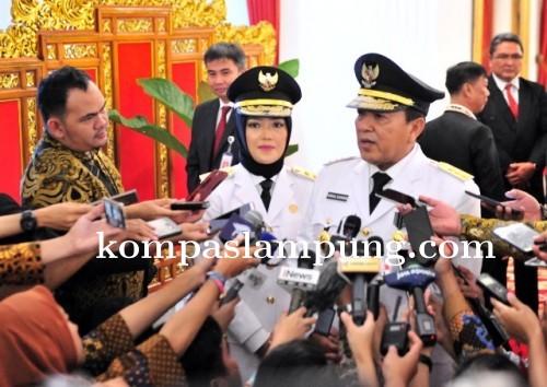 Usai Dilantik, Gubernur Arinal Djunaidi Ingin Lampung Berjaya di Masa Depan