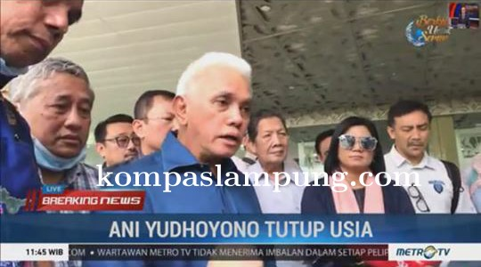 Indonesia Berduka, Ibu Ani Yudhoyono Tutup Usia