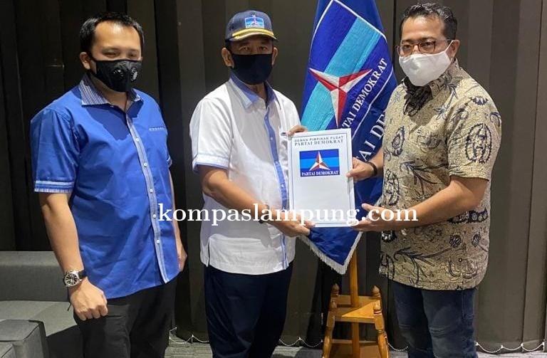 DPP Partai Demokrat Resmi Dukung Djohan Melenggang Ke Pilwakot Metro