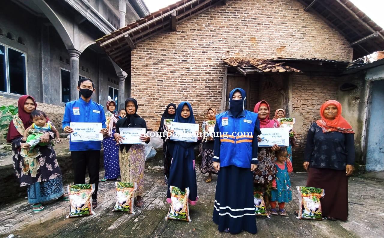 Ditengah Mencekamnya Covid-19 DT Peduli Lampung Dipercaya Salurkan Bantuan Fidiyah