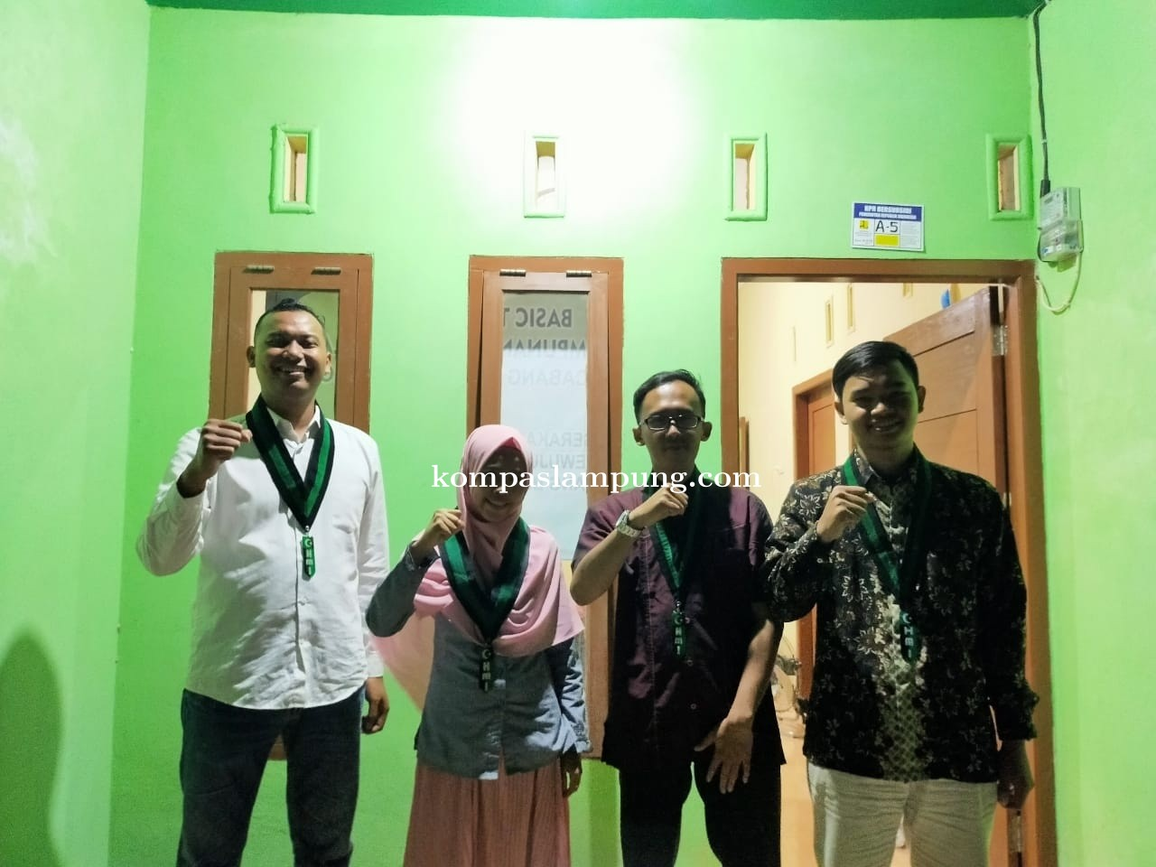 Himpunan Mahasiswa Islam (HMI) MPO Cabang Bandar Lampung melaksanakan Basic Training
