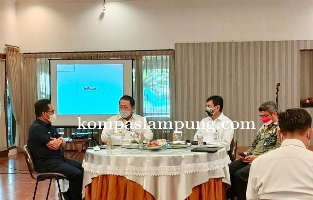 Gubernur Lampung Pimpin Rakor Bahas Optimalisasi Sektor Pertanian Melalui Kredit Usaha Rakyat