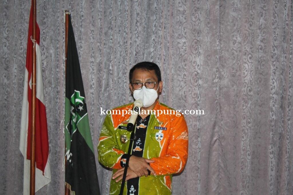 Walikota Metro Hadiri KAHMI Rakorwil Lampung