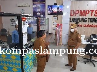 Hari Pertama Kerja Bupati Lampung Tengah H. Musa Ahmad S, sos Sidat Sejumlah (OPD)