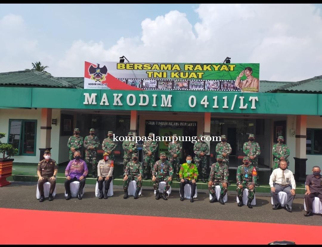 Kunker Pangdam II Sriwijaya, Ajak Semua Lapisan Masyarakat Patuhi Protokol Kesehatan
