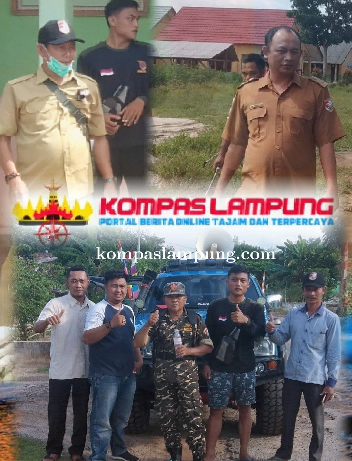Aparatur Tiyuh Panca Marga Dan Sido Makmur Tubaba Sosialisasikan Pencegahan  Covid-19