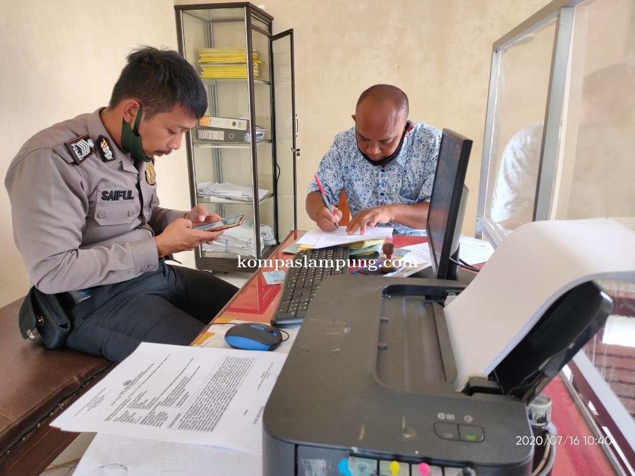 Markas Wartawan TV Di Kota Metro Dibobol Kawanan Pencuri