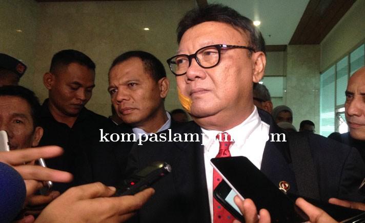 Mendagri Mensinyalir Terjadi Penyelundupan Pejabat di Pemprov Lampung