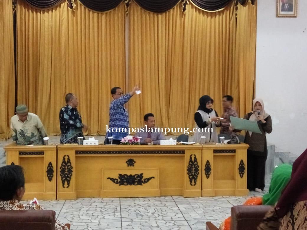 Pertarungan Sengit Lukman Hakim Dan Suhar di Musda LLI Kota Metro ke 6