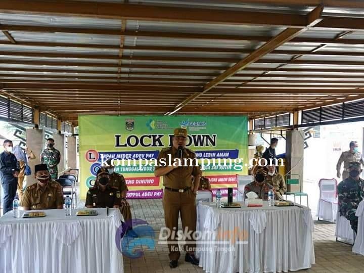 Peluncuran (Pelayanan Mobile Vaksin) Di Kabupaten Lampung Tengah