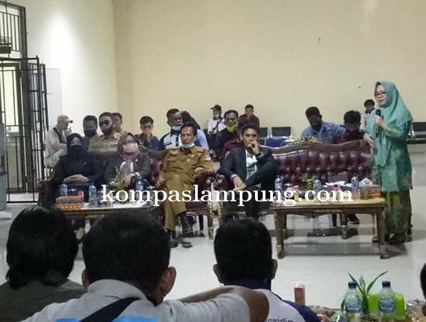 Ketua DPRD Mesuji Berharap Kepada Para Insan Pers Bersikap Profesional Dalam Penyampaian Berita