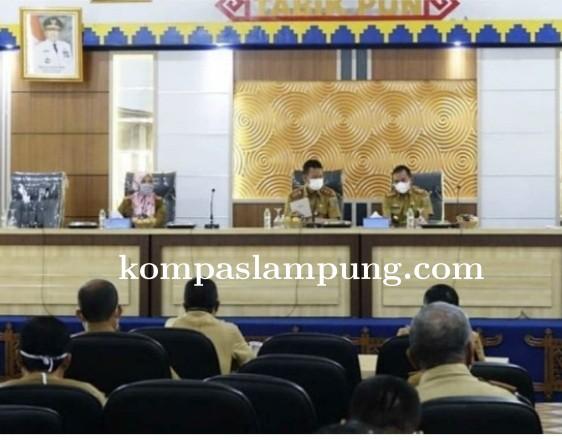 Pemkab Lamteng Rapat Persiapan Pemeriksaan Tim Inspektorat Propinsi Lampung