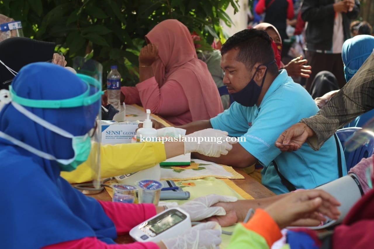 Warga Metro Senang WaRu Gelar Medical Chek Up Gratis Di PAYUNGI