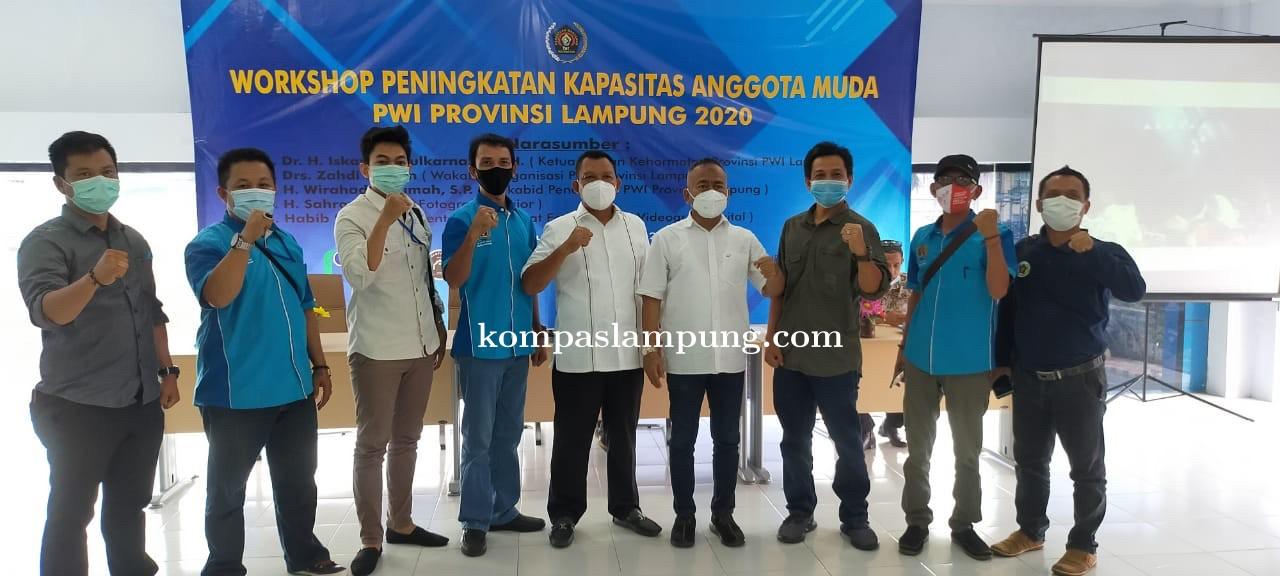 5 Anggota PWI Metro Ikuti Workshop Peningkatan Kapasitas Anggota Muda