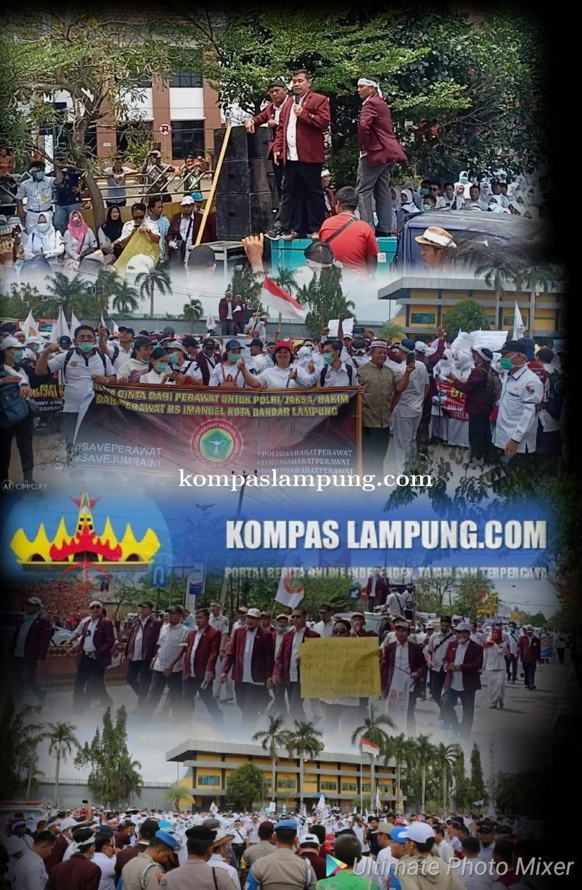 Ribuan Massa Gelar Aksi Solidaritas  Bela Jumraini