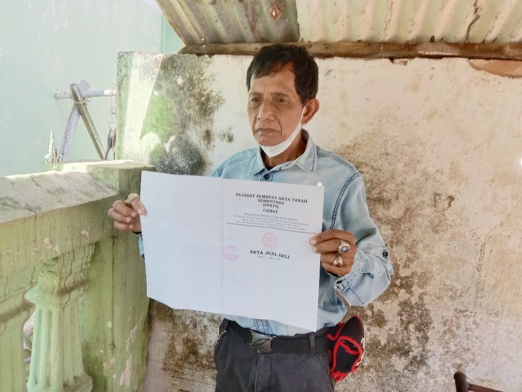 Warga Keluhkan Buat AJB, Diduga Oknum ASN Punggut Biaya