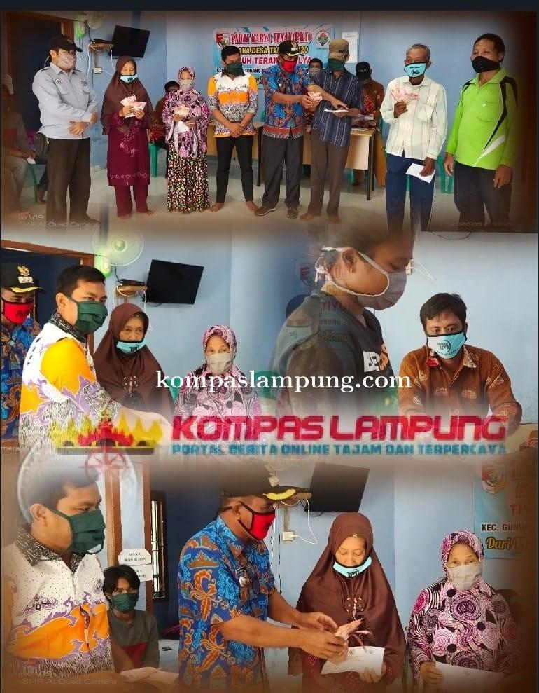 Pemerintahan Tiyuh Terang Mulya Tubaba Salurkan BLT Dana Desa Ke 36 KK