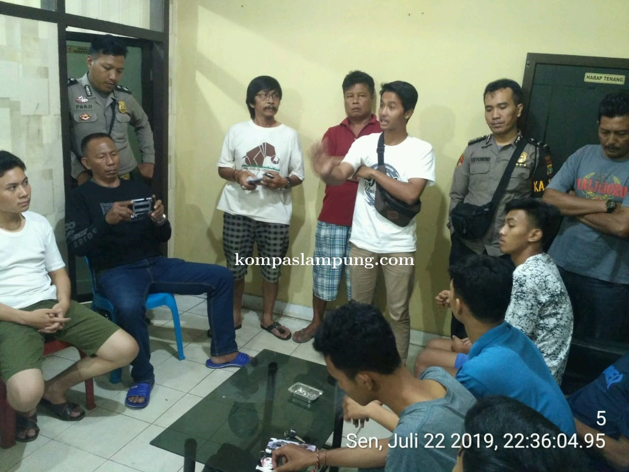 2 Orang Terluka Akibat Tawuran Pelajar Di Depan Rusunawa Iringmulyo