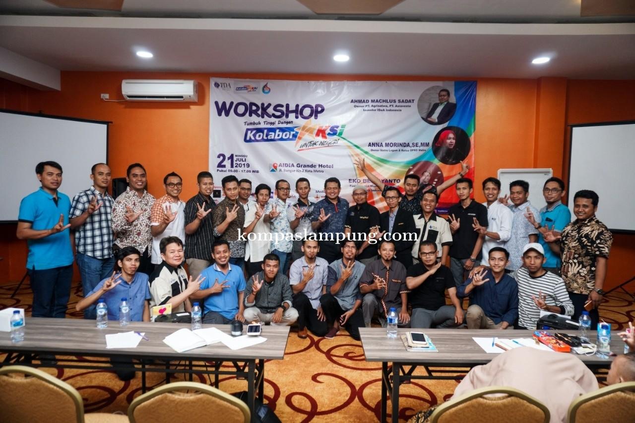 TDA Metro Sukses Menyelenggarakan Workshop KolaborAksi Untuk Negeri