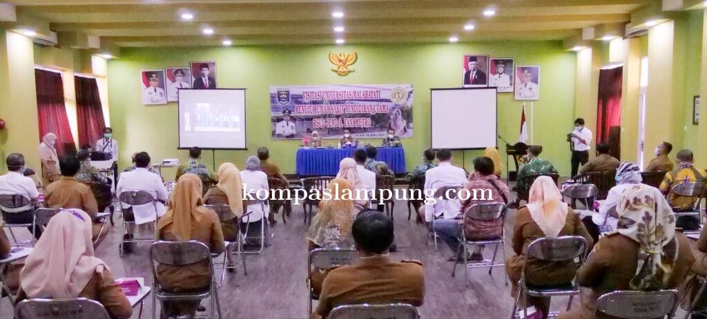 Persiapan Dijadikan RS Pendidikan, RSUD Jend Ahmad Yani Kota Metro Kedatangan Tim Visitasi