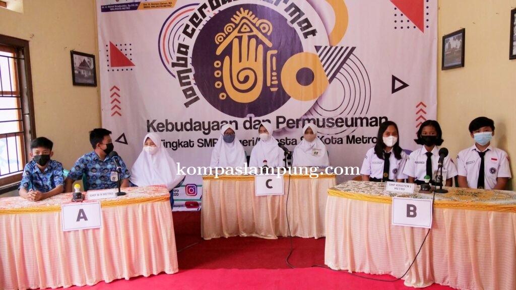 LCC Kebudayaan dan Permuseuman Tingkat SMP se-Kota Metro