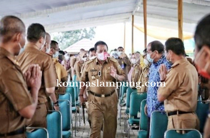 Gubernur Lampung Buka Rakor Evaluasi Sektor Pertanian Dan Perikanan