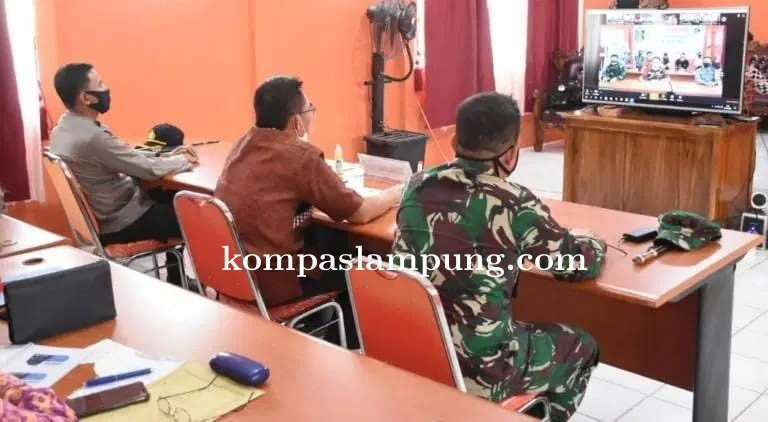 Bupati Zaiful Bokhari Mengusulkan PSBB Kepada Gubenur Lampung
