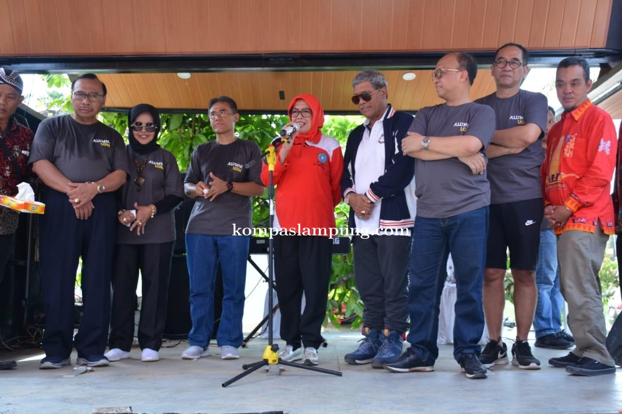 Bupati Lamteng Bersama Wakil Ketua Kagama Mengunjungi  Universitas Gadjah Mada