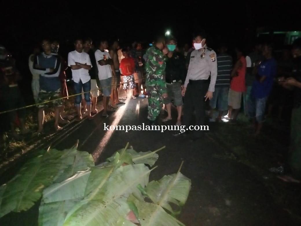 Polisi Identifikasi Penemuan Mayat Di Kelurahan Menggala Selatan