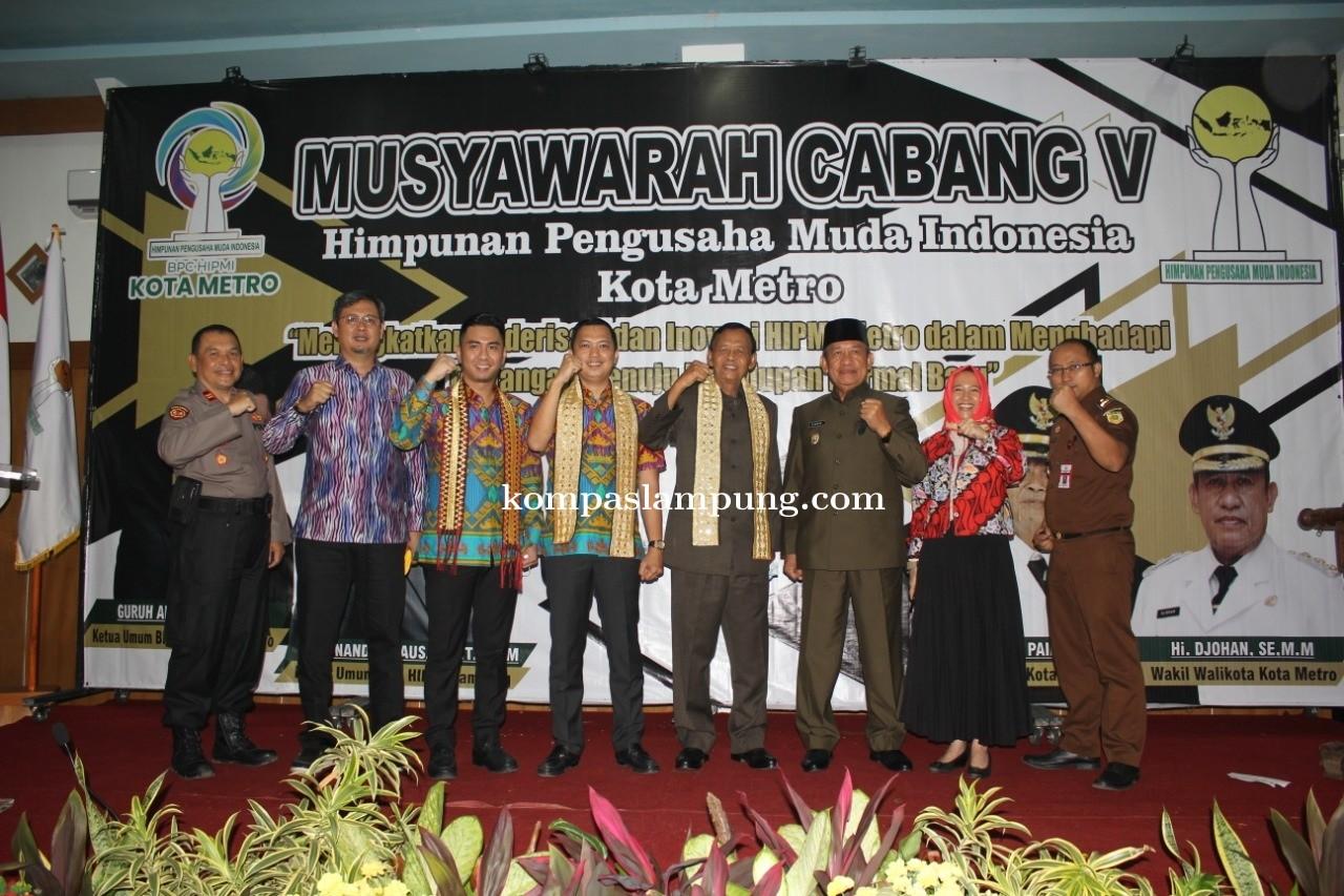 Muscap HIPMI V Wakil Ketua DPRD Kota Metro Dapat Meningkatkan UMKM Metro