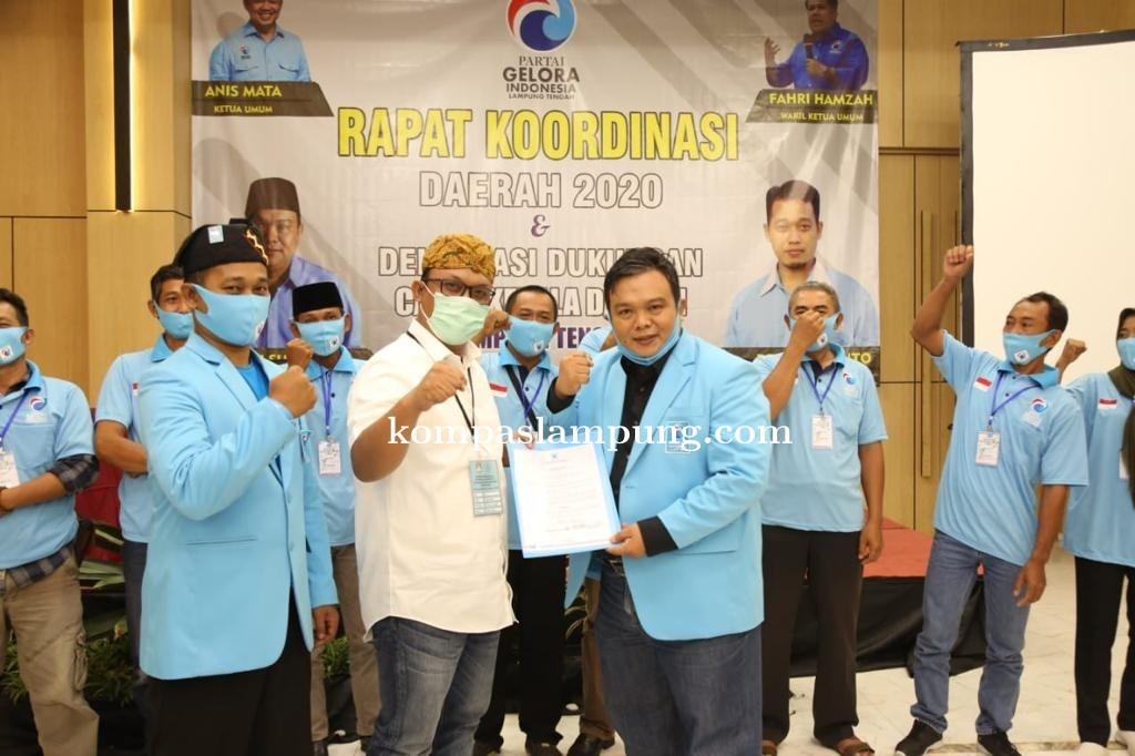 Partai Gelora Lampung Tengah Siap Menangkan Musa - Ardito