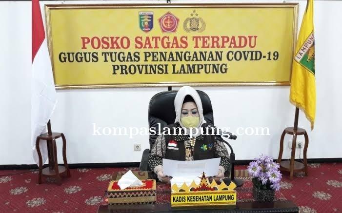 Pasien Positif Covid-19 Provinsi Lampung bertambah Dua, Satu Diantaranya Warga Kota Metro