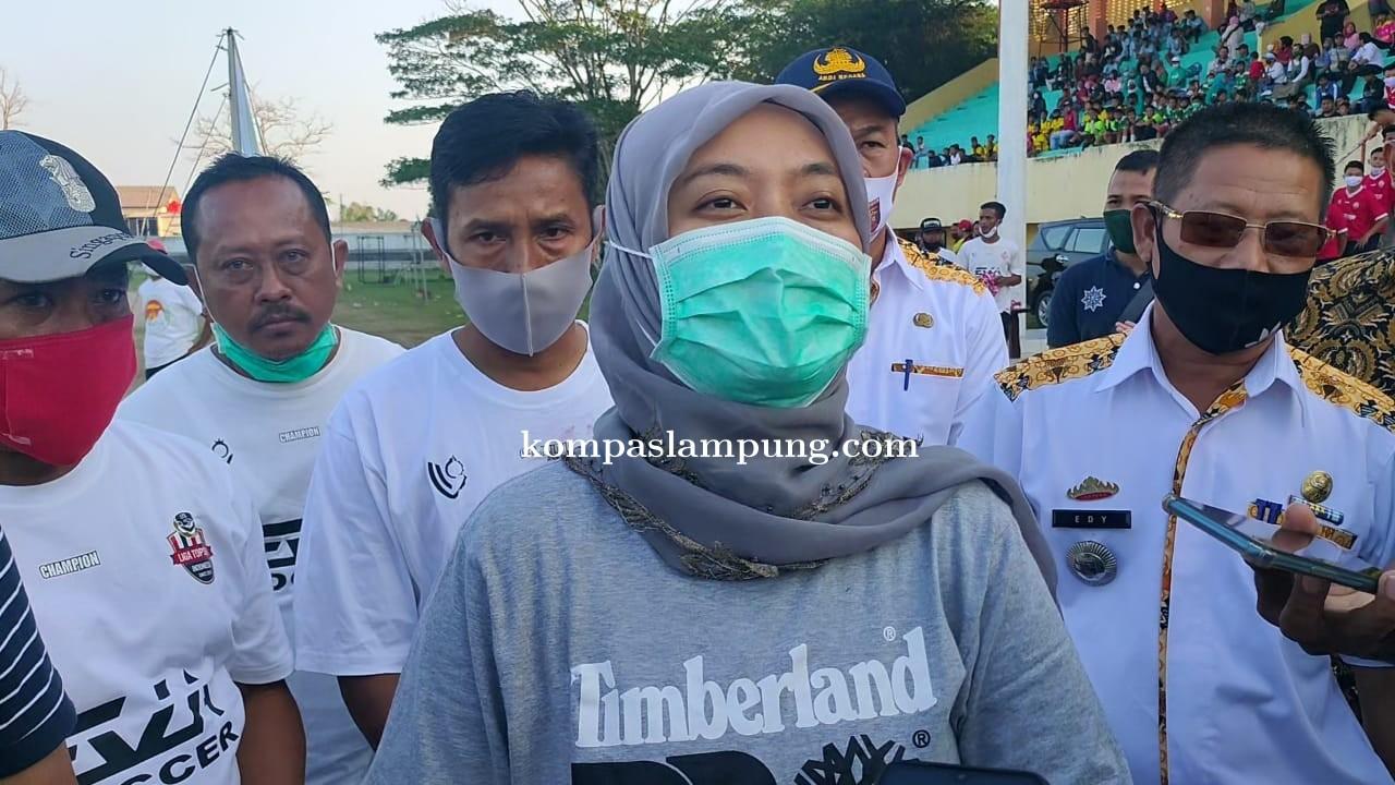 Wakil Gubernur Lampung, Dukung Pembinaan Atlit Sepak Bola Usia Dini