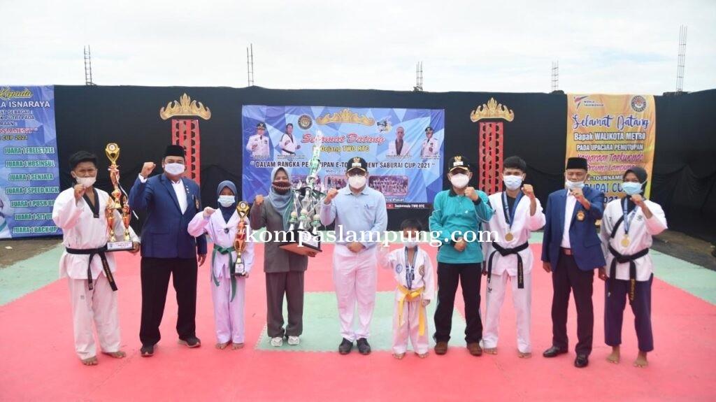 Walikota Dan Wakil Walikota Metro Hadiri Penutupan E-Tournament Saburai Cup