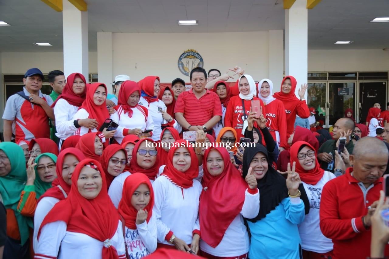 Peringati Hari Jantung Sedunia, Ketua YJI Lampung Ajak Warga Rutin Olahraga