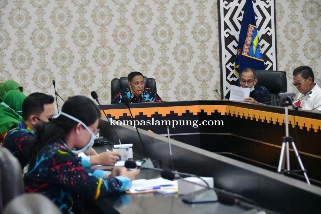 Pemkot Metro Tambahkan Modal 10 Miliar Ke PT. Bank Lampung
