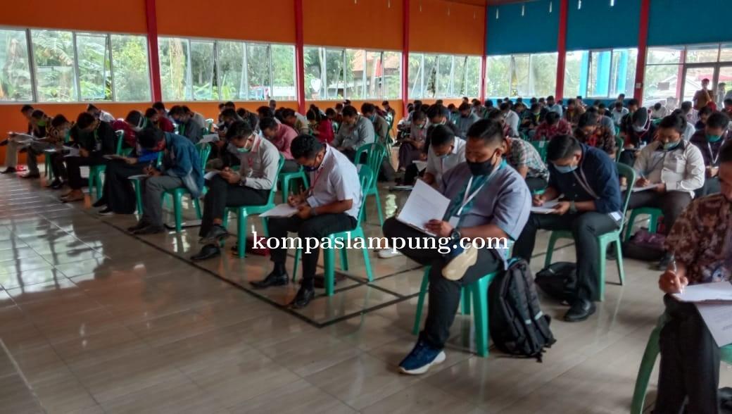 Sebanyak 148 Peserta Mengikuti Tes Tenaga Fasilitator Lapangan Serta Tenaga Pendamping Masyarakat