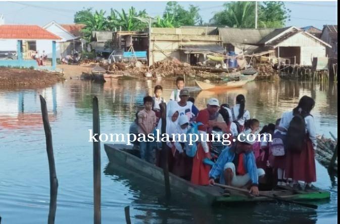 Masyarakat Berharap Pembangunan Jembatan Di Desa Sungai Cambai Mesuji