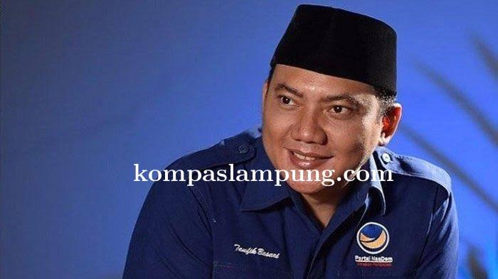 Ketua DPW Nasdem Provinsi Lampung Positif Covid-19
