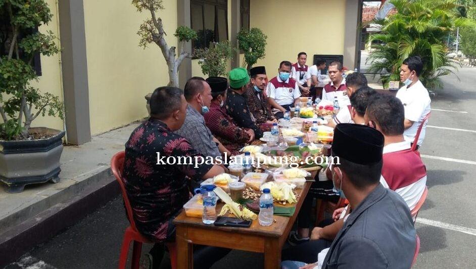 Kapolres Lamteng Menerima Kunjungan Tokoh-Tokoh Agama Serta Tokoh Mayarakat Di Mapolres Lampung Teng