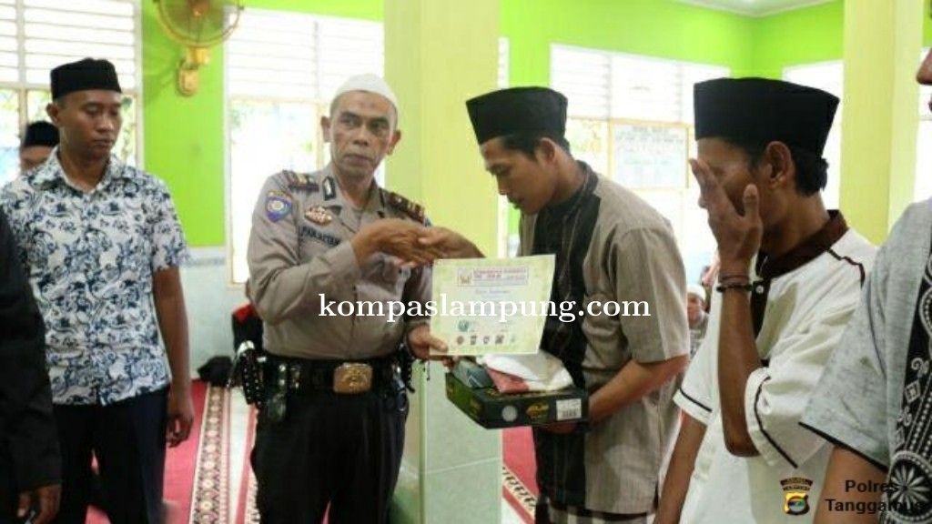 Warga Binaan Lapas Peraih Juara Tahfidz Quran dan Ucapkan Terima Kasih ke Polres Tanggamus