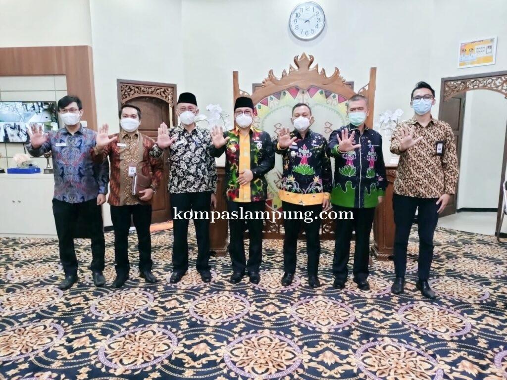 Pemerintah Kota Metro Terima Kunjungan Ombudsmen Provinsi Lampung