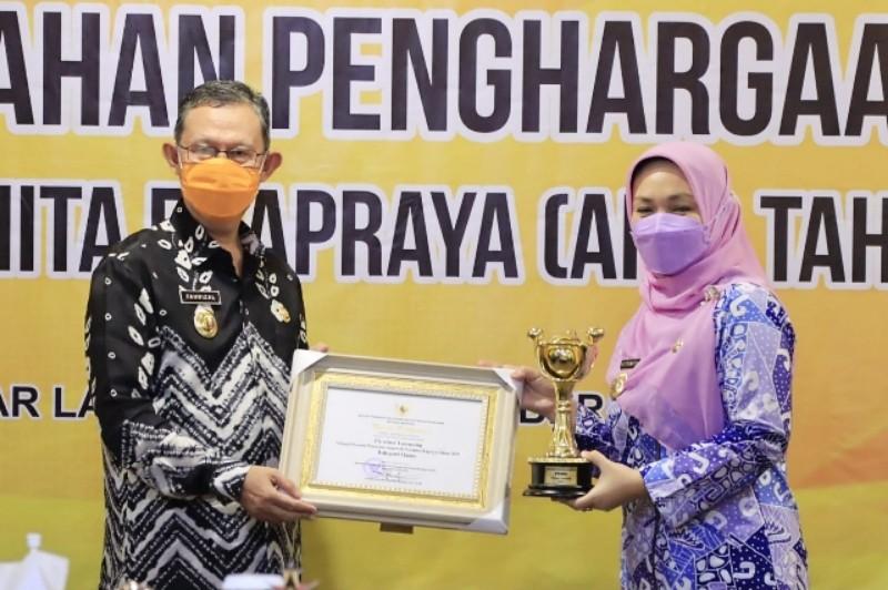 Pemprov Lampung Raih Penghargaan APE Tahun 2021