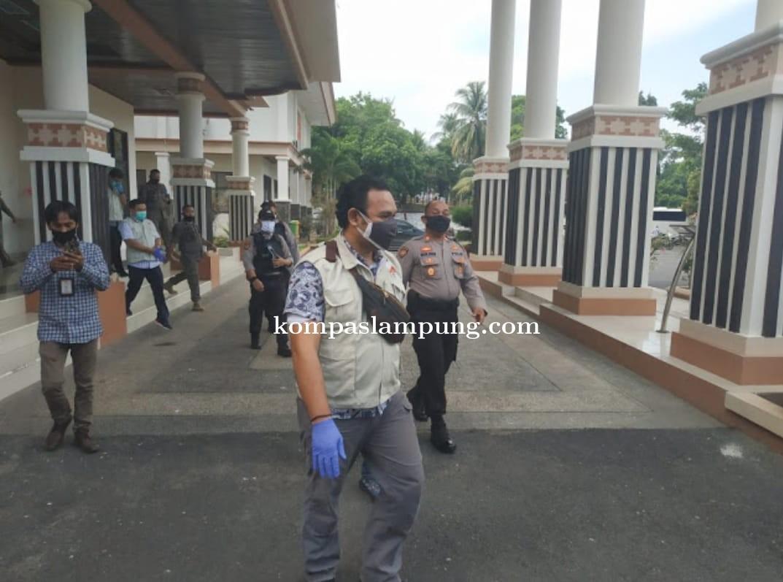 KPK Periksa Kantor Bupati Lampung Selatan Dan Kantor Dinas PUPR
